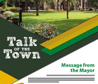 Talk Of The Town Spring 2021 Front Cover