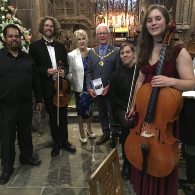 Mayor At Chamber Concert - Click to open full size image