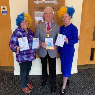 Mayor Promoting Dementia Friendly Week