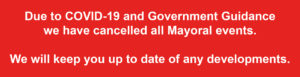 Mayors Events Cancellation Notice