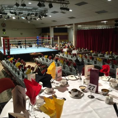 Boxing Dinner in Main Hall