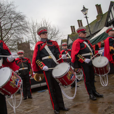 Battle Of Nantwich Marching Band