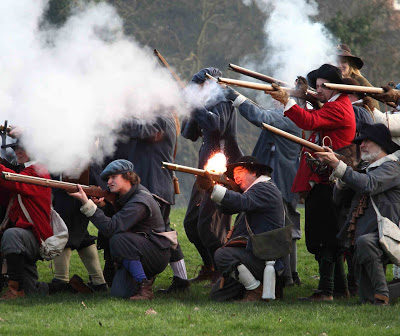 Battle Of Nantwich Reinactment