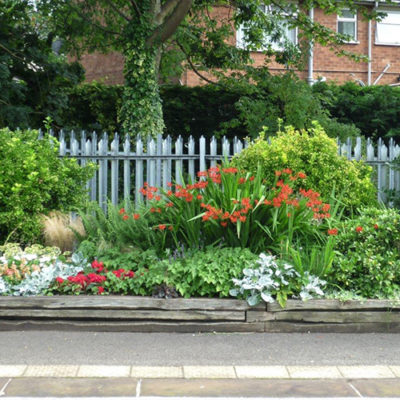 Bedding Display At Nantwich Railway Station - Click to open full size image