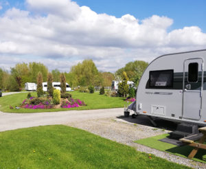 Camping site in Nantwich