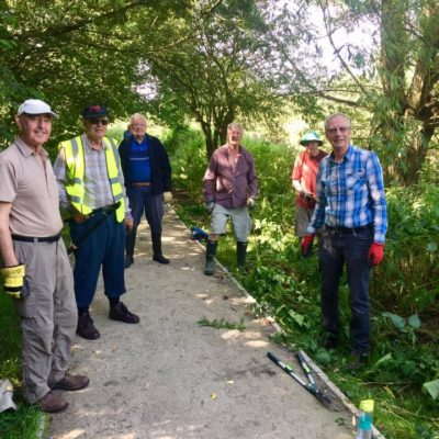 Civic Society Hard At Work - Click to open full size image
