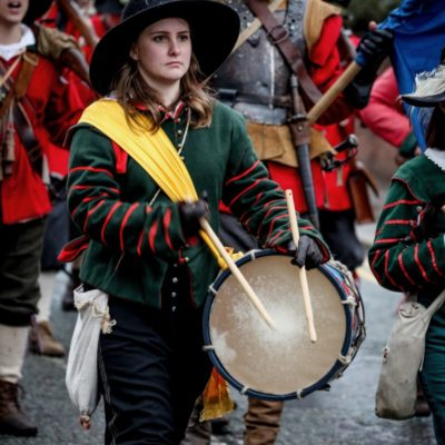 Drummer At Battle Of Nantwich