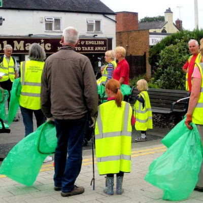 Litter Pickers Briefing