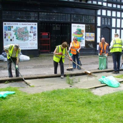 Nantwich Civic Society Working Hard In The Town