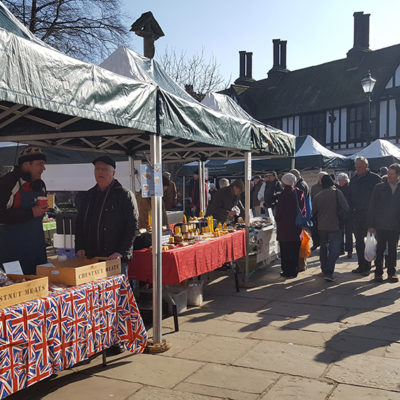 Nantwich Farmers Market - Click to open full size image