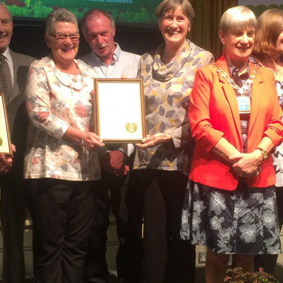 Nantwich In Bloom Collecting Award