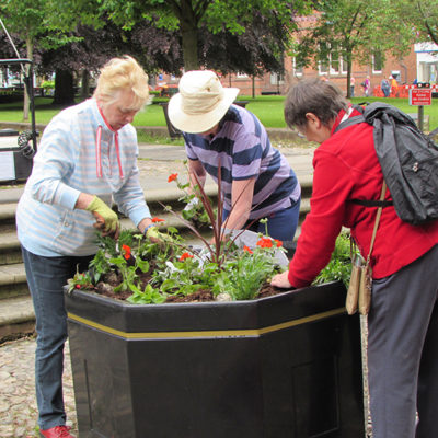 Nantwich In Bloom Volunteers