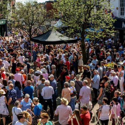Nantwich Jazz Festival Crowds