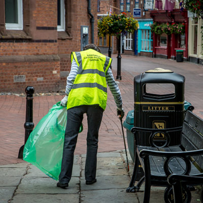 Nantwich Litter Group Volunteer