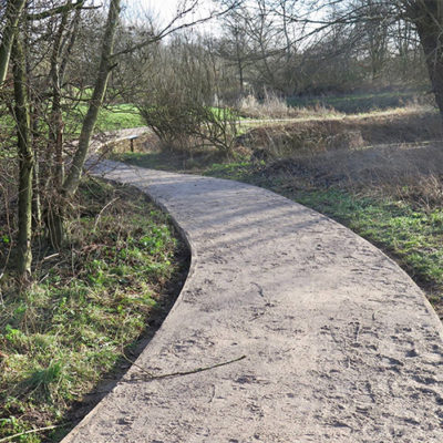 New Pathway Installation - Click to open full size image