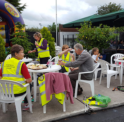Refreshments After A Litter Pick