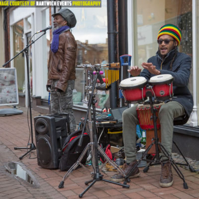 Street Performers At Nantwich Jazz Festival