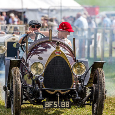 Vintage Car Display At Nantwich Show