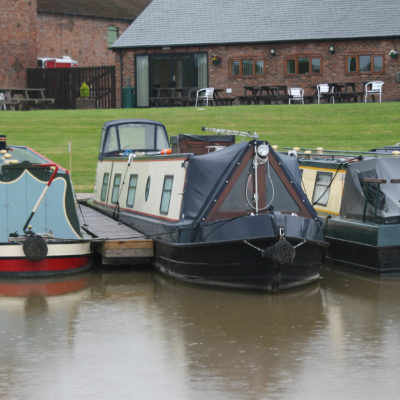 Cafe At Church Minshull Marina - Click to open full size image