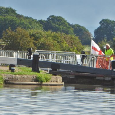 Canal At Church Minshull - Click to open full size image