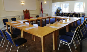 Nantwich Town Council Meeting set-up