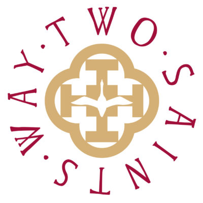 Two Saints Way Logo - Click to open full size image
