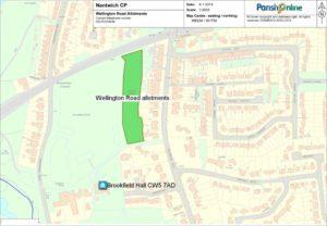 Wellington Road Allotment Site
