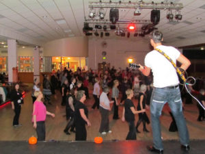 Line Dancing At Nantwich Civic Hall
