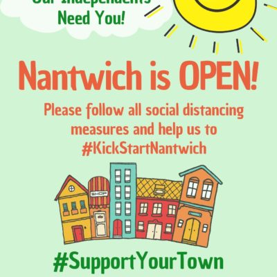 Nantwich Is Open Poster - Click to open full size image