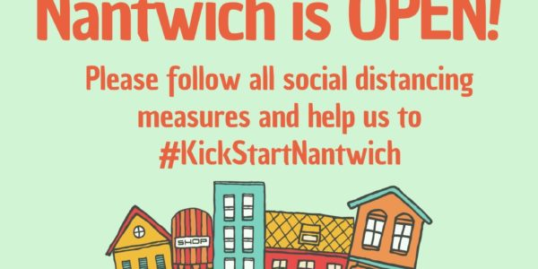 Nantwich Is Open Poster