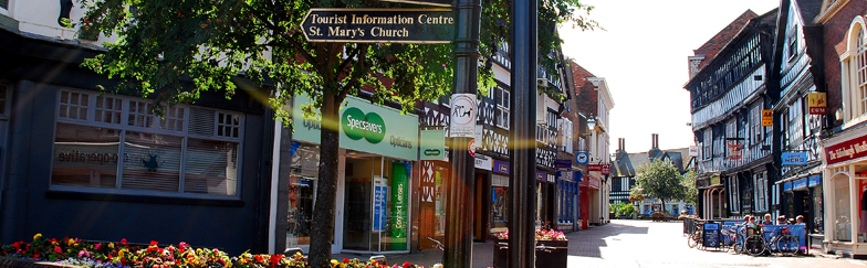 High Street Nantwich