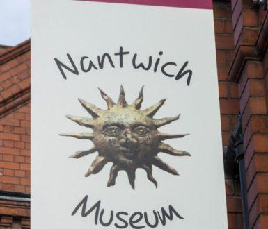 Nantwich Museum Sign