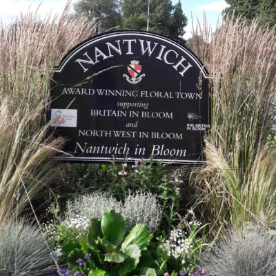 Nantwich Sign, Shrewbridge Road 2020