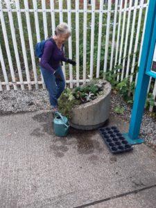 Railway Planter Needing Work