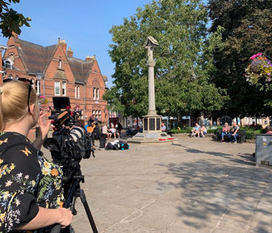 Video Filming In Nantwich