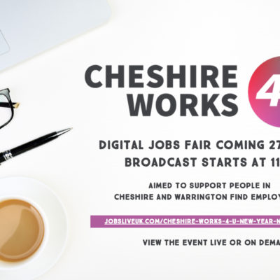 Digital Jobs Fair Notice - Click to open full size image