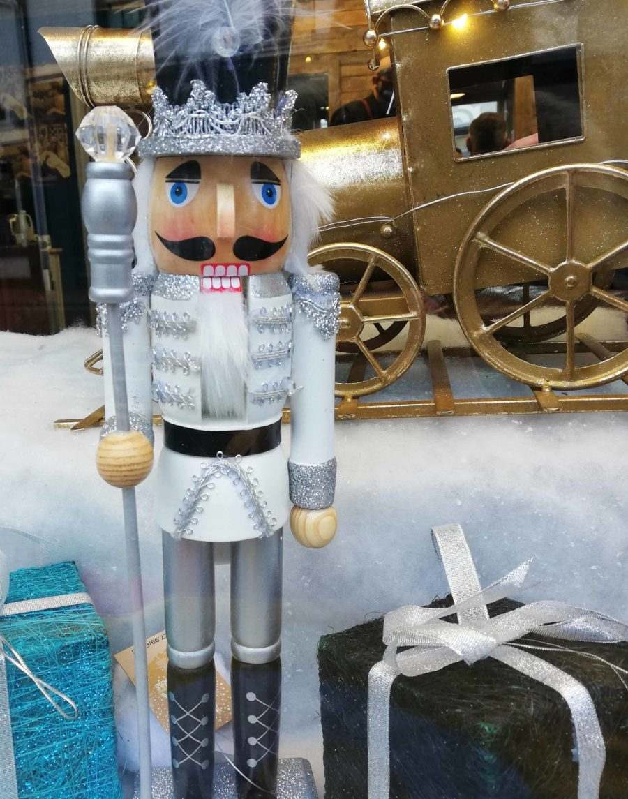 Nutcracker Figure in Shop Window