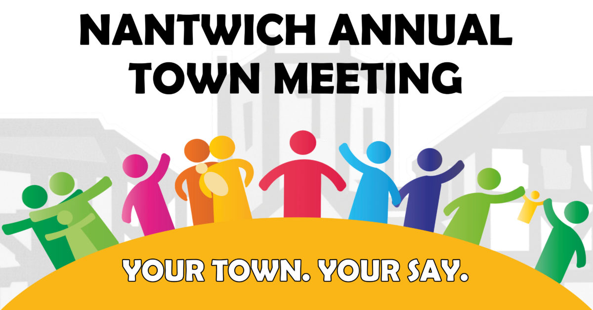Annual Town Meeting Community Illustration