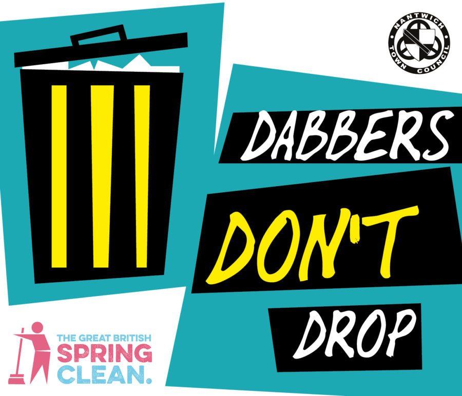 Dabbers Dont Drop Logo