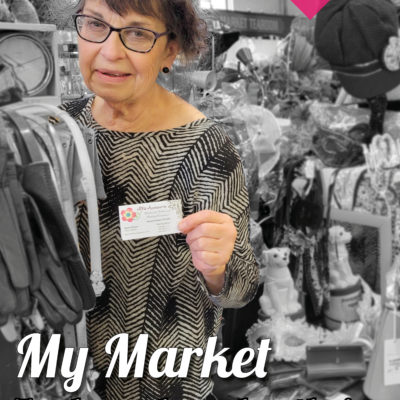 Market Trader With Loyalty Card