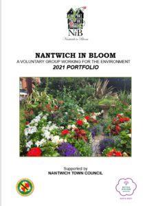 Nantwich In Bloom Portfolio Cover 2021