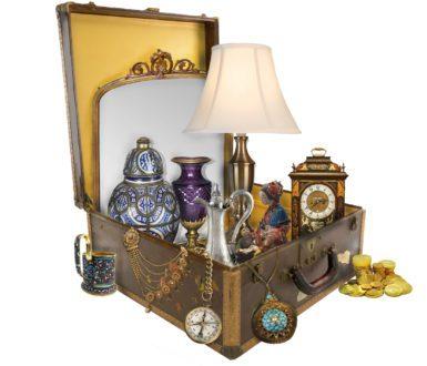 Antique in a Suitcase
